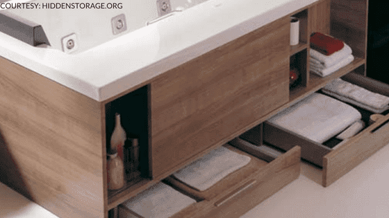 Bathroom Hidden Storage Spaces