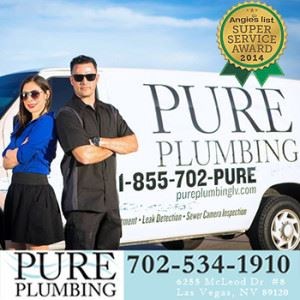 Pure Plumbing Receives Angie's List Super Service Award 2014
